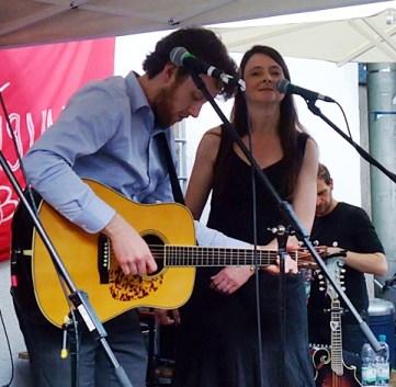 PETER DORAN + THE MOONBAND @ Straßenfest Glockenbachwerkstatt München 2015-05-10 (2)