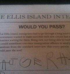 Ellis Island \u0026 Immigration   The Schoolhouse [ 1936 x 1936 Pixel ]