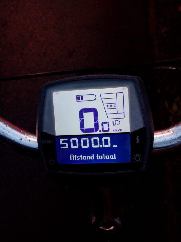 5000 elektrisch fietsen