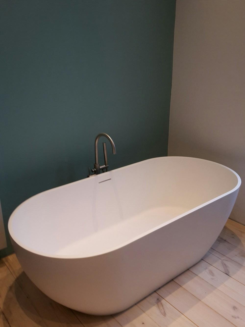 Op weg naar een nieuwe badkamer: het bad!
