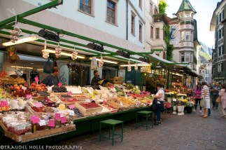 Bozen, Obstmarkt