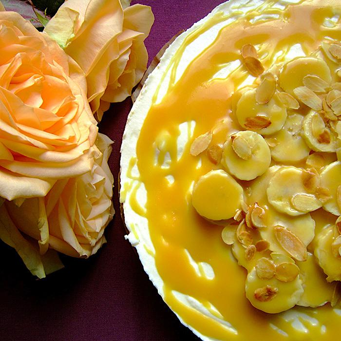 Cheese Cake / Чийзкейк с банан и карамел рецепта