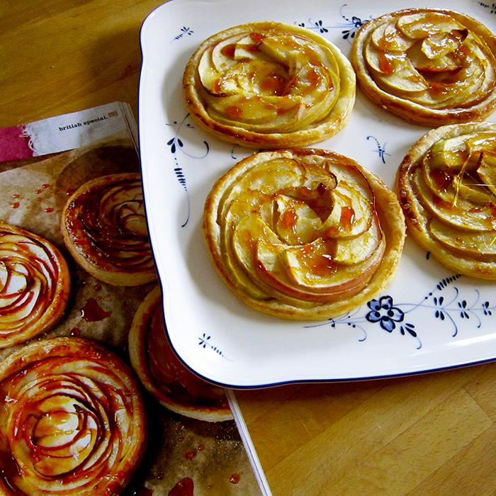 Apple Tarts / Фреснки Ябълкови Тарталети рецепта