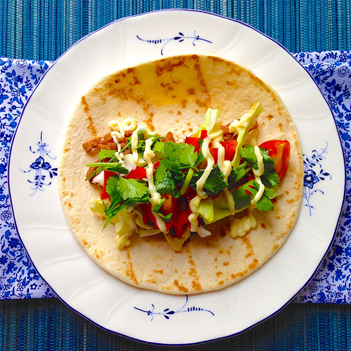 tacos / Мексикански Такос с Мариновано Телешко рецепта