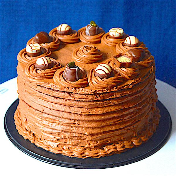 Chocolate Cake / Шоколадова Торта рецепта