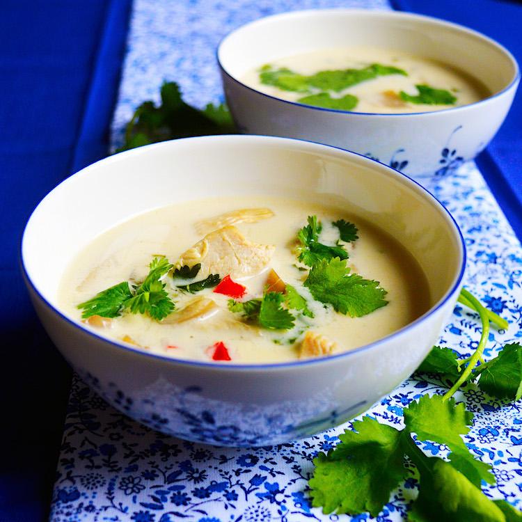 Thai Soup / Супа по Тайлански с Кокосово Мляко и Пиле рецепта