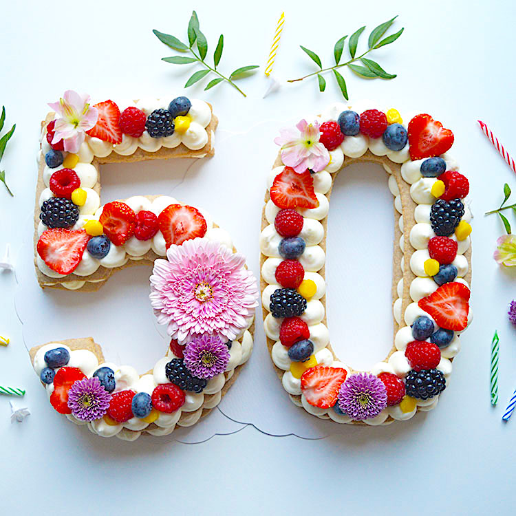 Number Cake recipe / Торта за Рожден Ден с Цифри рецепта