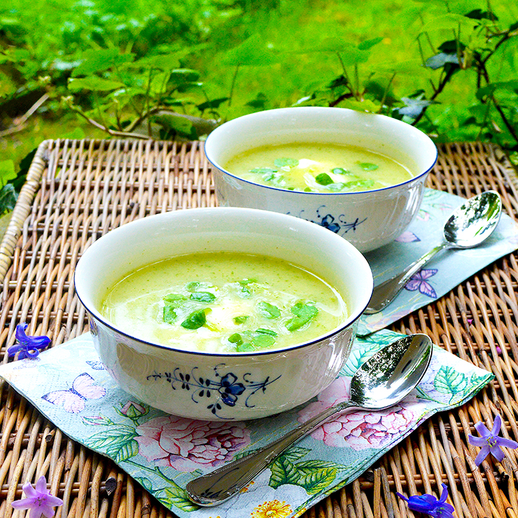Watter crest soup recipe / Супа от Целина & Крес рецепта