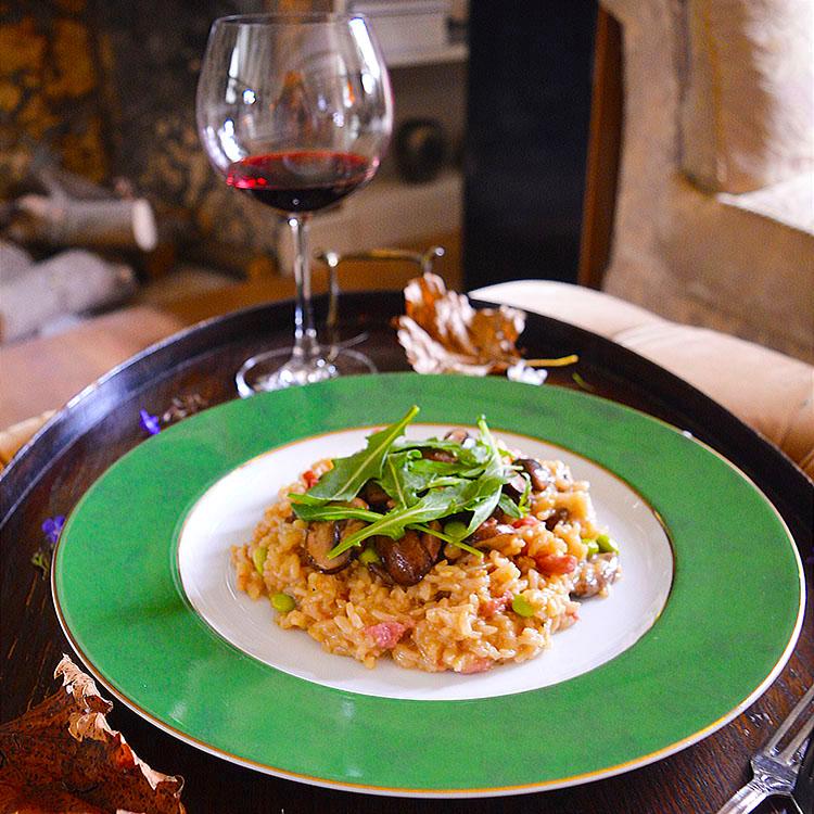 Truffle Mushroom Risotto Recipe/ Ризото с Гъби & Трюфел Песто рецепта