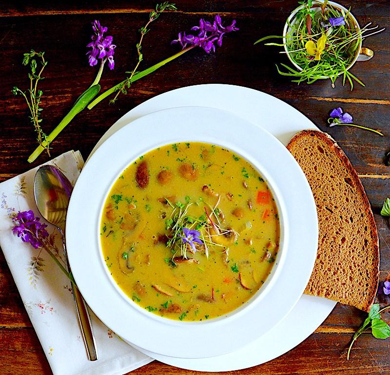 Баварска Супа от Гъби