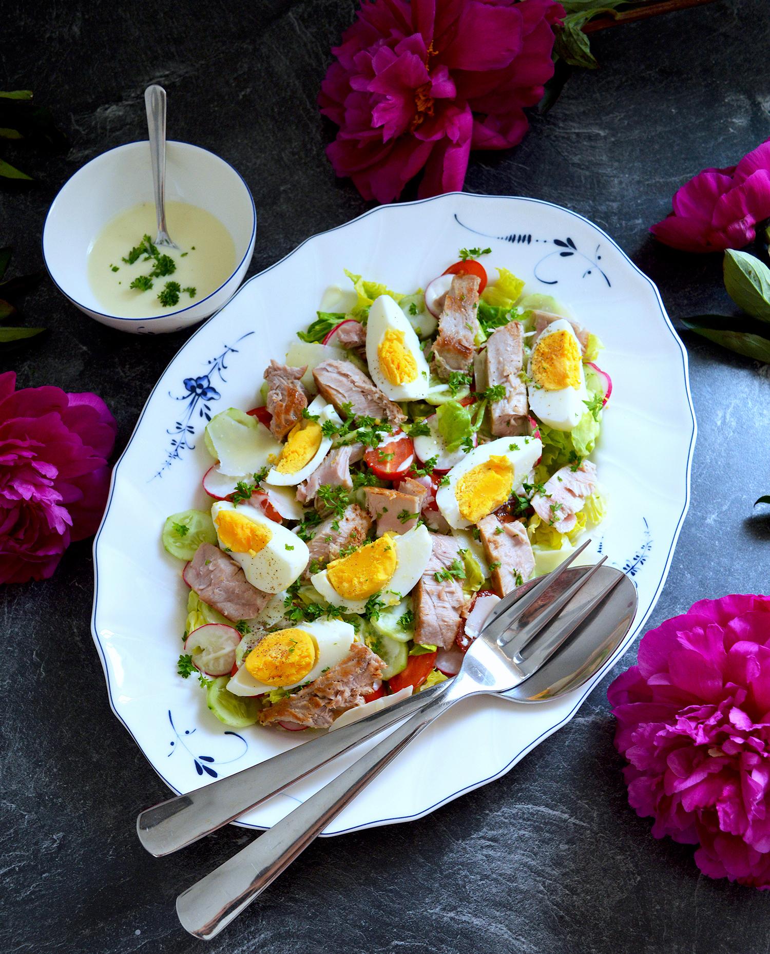 Салата с Риба Тон - Tuna Salad