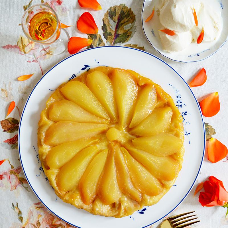 Pear & Honey Tart Tatin