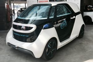 The Autonomous Smart Car from AKKA