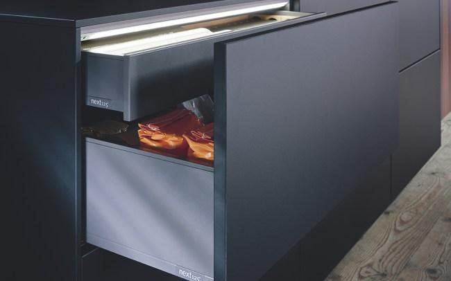 Black Kitchens by Schüller Next 125 in Cardiff - Fenix Door 3