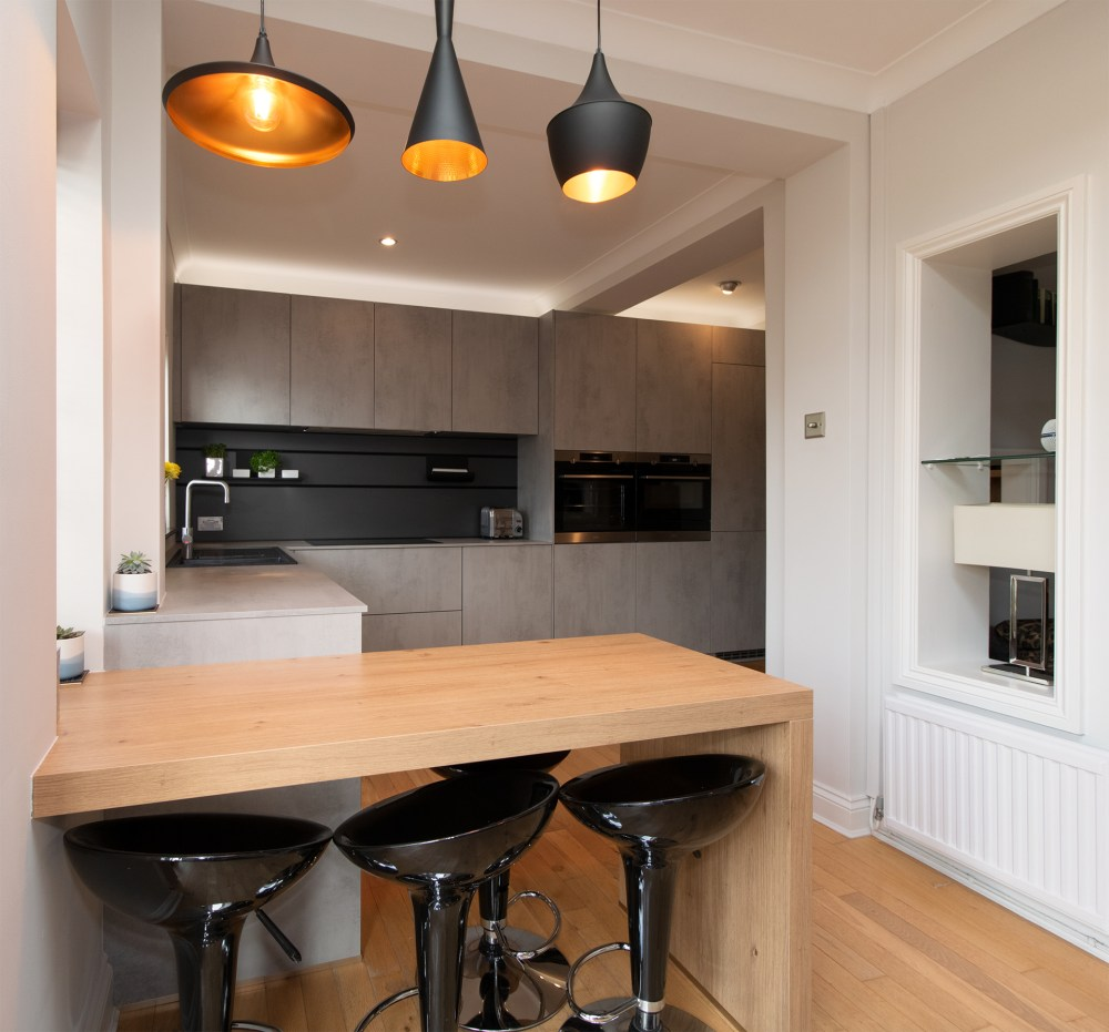 Schuller Elba Kitchen Project in Barry - 05
