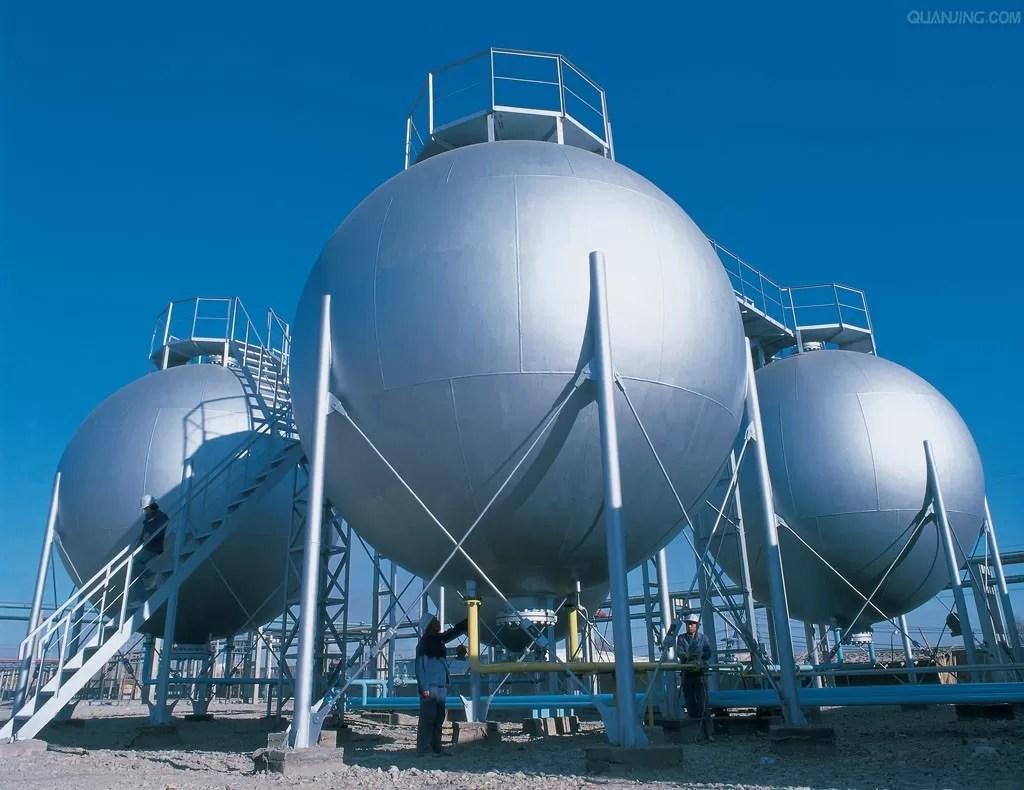 Dreifacher Wand-Edelstahl-Druckbehälter-Behälter, Erdgas-Sammelbehälter
