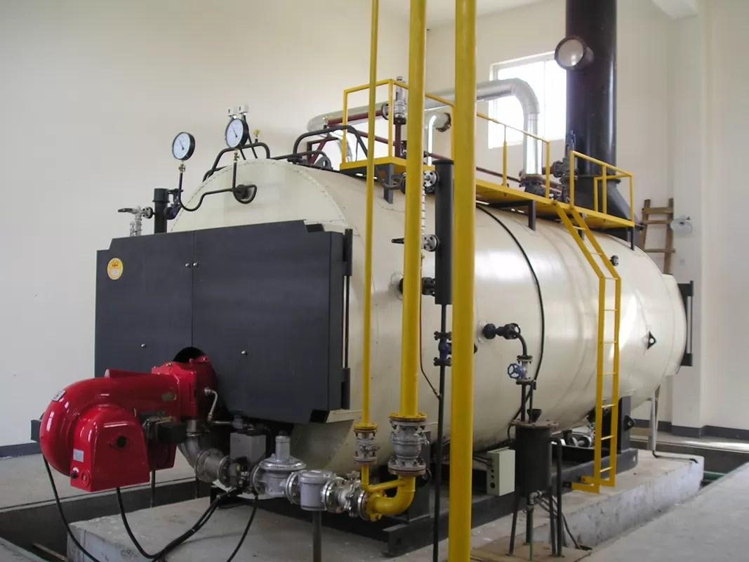 Elektrischer 8 Tonnen-Druckbehälter-Gaswasser-Dampfkessel, Thermal
