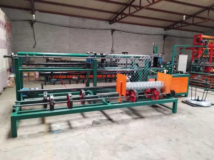 Doppelte Draht CNC-Kettenglied-Zaun-Maschine/automatische Kettenglied-Maschine für Spielplatz