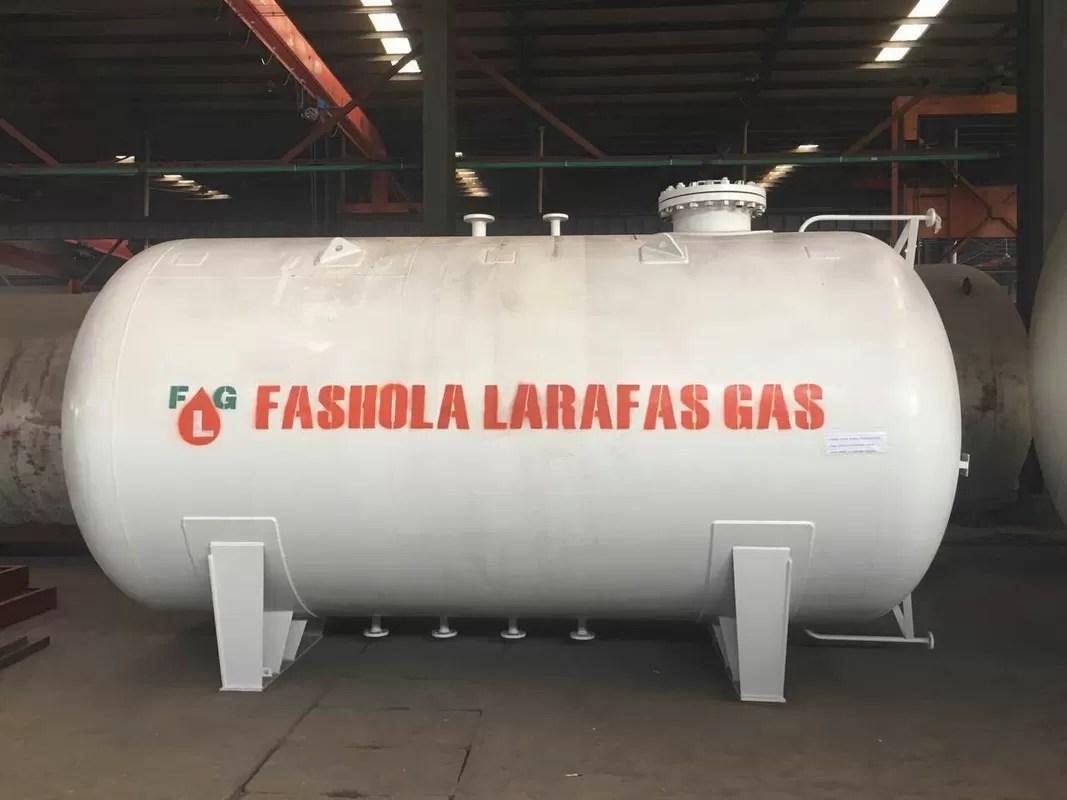 Gas-Sammelbehälter 20M3 Lp, 10 Tonne 20000 Liter-Flüssiggas-Behälter