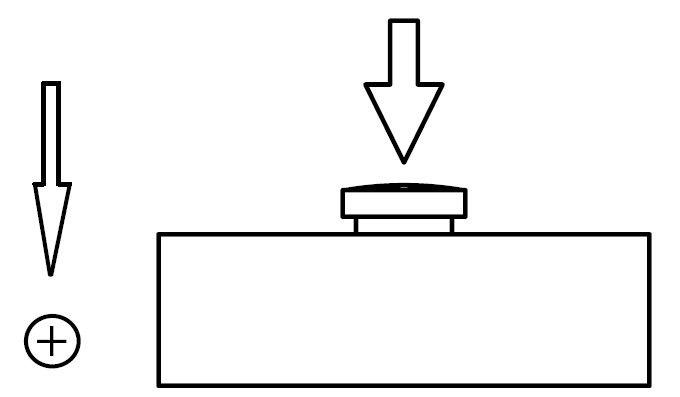 Flache Edelstahl-Messdose 5kg 20kg für industrielles Maß