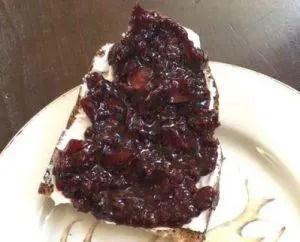 Brombeeren Marmelade Portwein Äpfel süßer Aufstrich Foodblog German Abendbrot