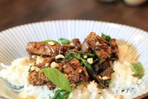 Huhn Wok Thaibasilikum Hoisinsauce Rezept Foodblog Germanabendbrot
