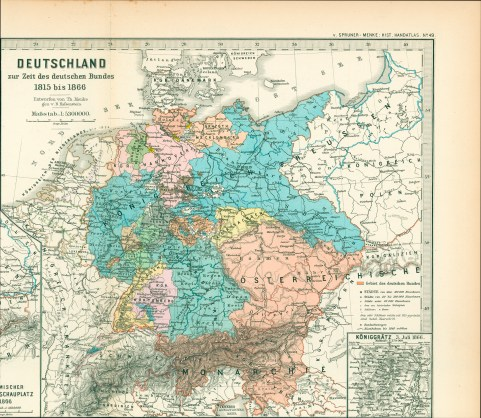 Germany 1815 - 1866 - not a unified nation.