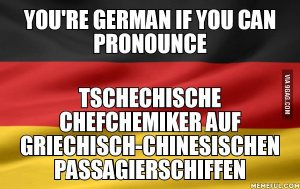 you are german if