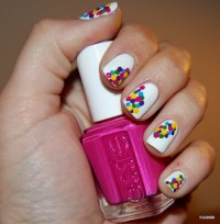 Awesome Nail Design Part 2   A Colorful Soul