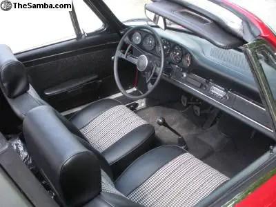 1968 Porsche 911S Softie Interior II German Cars For