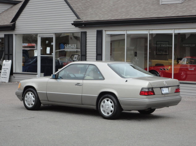 1994 Mercedes Benz E320 Coupe German Cars For Sale Blog