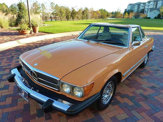 1975 Mercedes Benz 450sl German Cars For Sale Blog