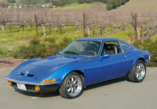 1972 Opel GT – German Cars For Sale Blog