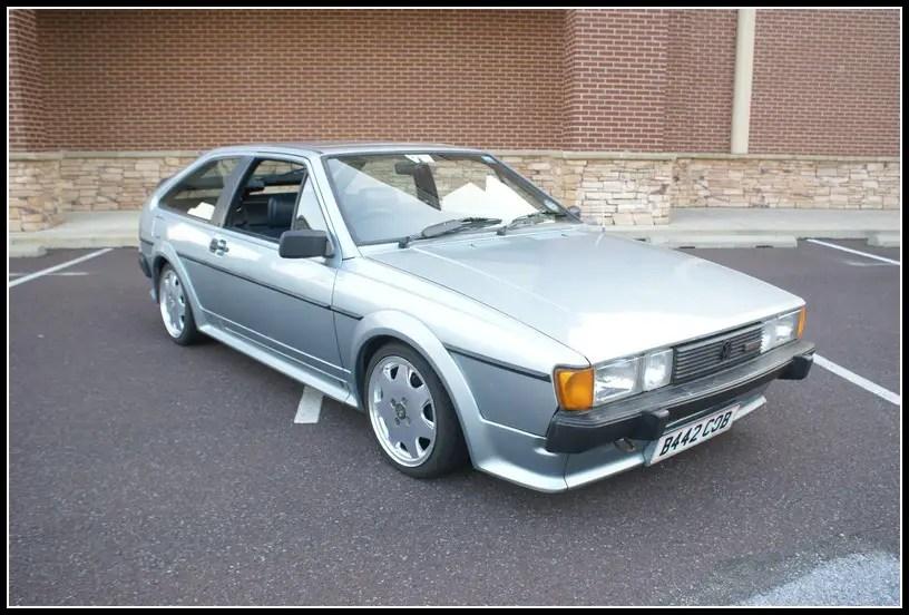 1985 Volkswagen Scirocco Storm German Cars For Sale Blog