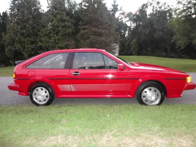 1988 Volkswagen Scirocco 16v German Cars For Sale Blog