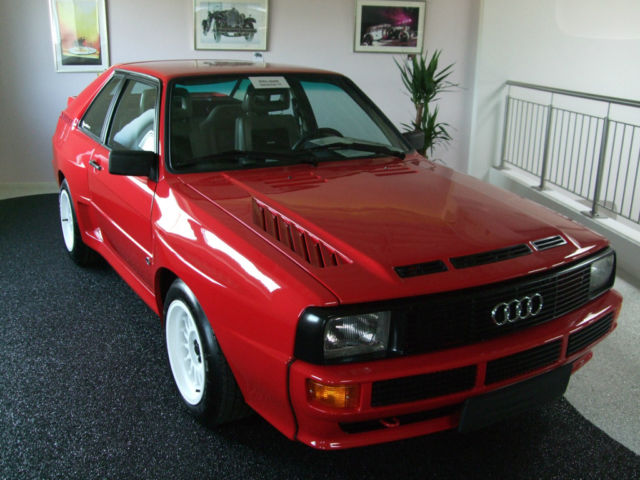 1985 audi sport quattro german cars for sale blog