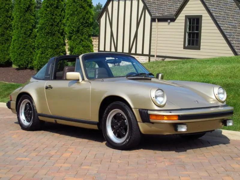 1983 porsche 911sc targa german cars for sale blog. Black Bedroom Furniture Sets. Home Design Ideas