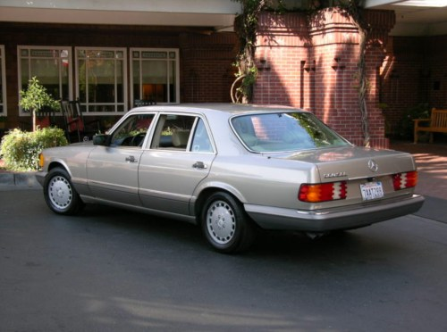 small resolution of 1991 mercedes benz 560sel
