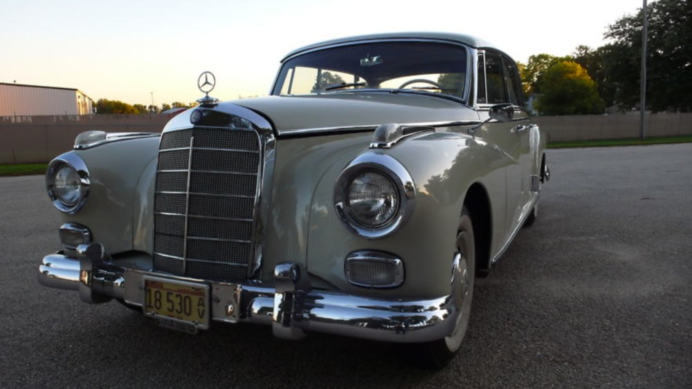 medium resolution of 1960 mercedes benz 300d adenauer