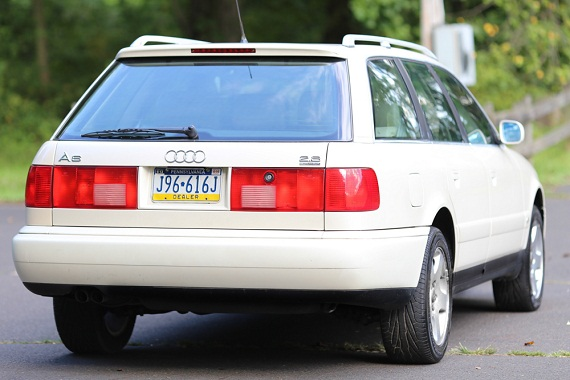 Wagon Week: 1997 Audi A6 2.8 Quattro Avant - German Cars ...