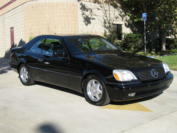 1998 mercedes benz cl600 german cars for sale blog for Mercedes benz cl600 for sale