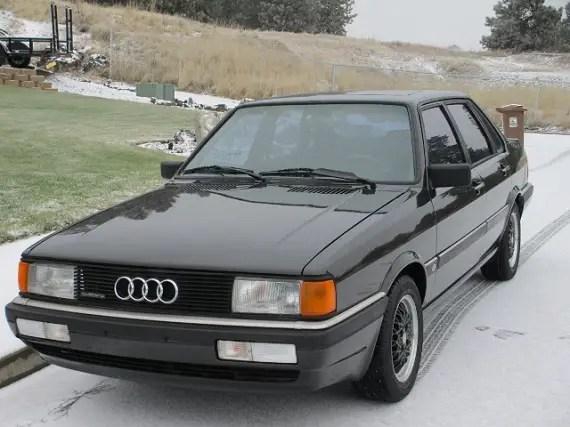 1986 audi 4000cs quattro german cars for sale blog. Black Bedroom Furniture Sets. Home Design Ideas