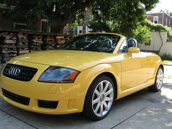 2004 Audi TT Roadster 3.2 S-Line - German Cars For Sale Blog