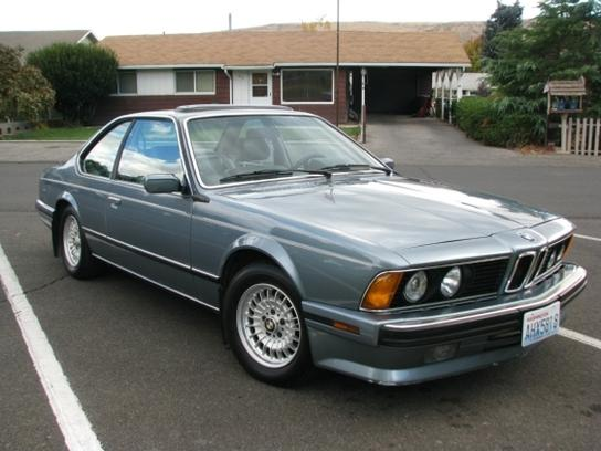 1989 bmw 635csi german cars for sale blog. Black Bedroom Furniture Sets. Home Design Ideas