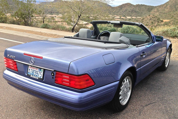 1997 mercedes benz sl320 40th anniversary edition german for Mercedes benz sl320 for sale