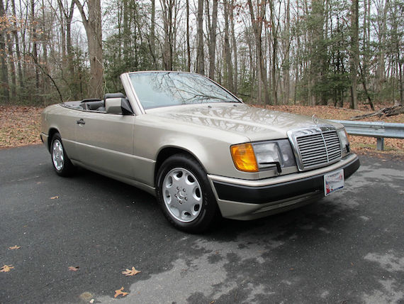 1993 Mercedes Benz 300ce Cabriolet As Featured In The