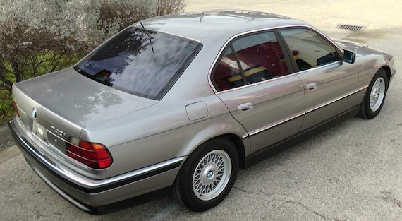 1995 bmw 740i with 40k miles german cars for sale blog. Black Bedroom Furniture Sets. Home Design Ideas