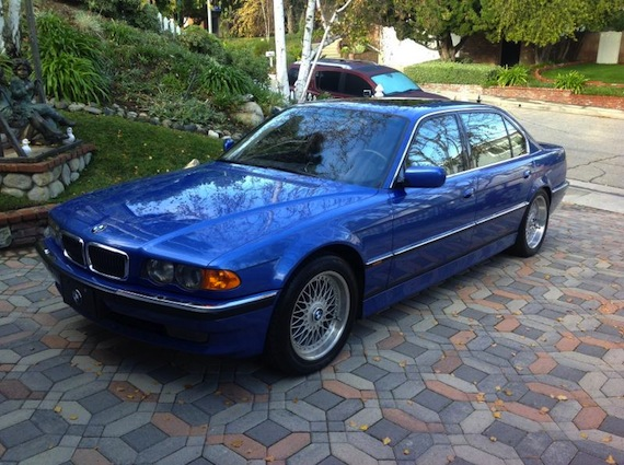 Estoril Blue 1999 BMW 750il - German Cars For Sale Blog