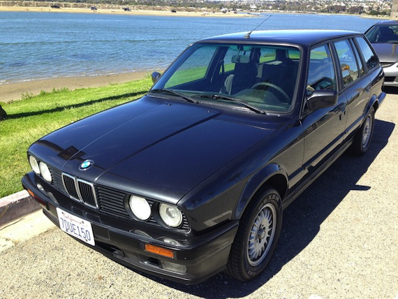 1988 bmw 320i touring revisit german cars for sale blog. Black Bedroom Furniture Sets. Home Design Ideas