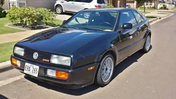 Volkswagen Corrado-off: 1991 G60 v. 1992 VR6 – German Cars For Sale Blog